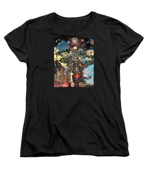 The Tree Women's T-Shirt (Standard Cut) by Emily McLaughlin