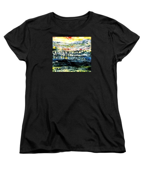 The Twisted Reach Of Crazy Sorrow Women's T-Shirt (Standard Cut) by Trudi Doyle