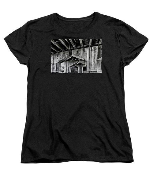 Women's T-Shirt (Standard Cut) featuring the photograph The Urban Jungle by Brad Allen Fine Art