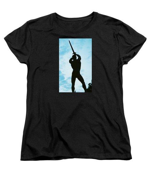 The Victor Women's T-Shirt (Standard Cut) by Jake Hartz