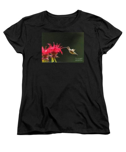 Women's T-Shirt (Standard Cut) featuring the photograph The Visitor by Robert Pearson
