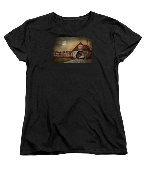 Women's T-Shirt (Standard Cut) featuring the photograph The Watcher by Robin-Lee Vieira