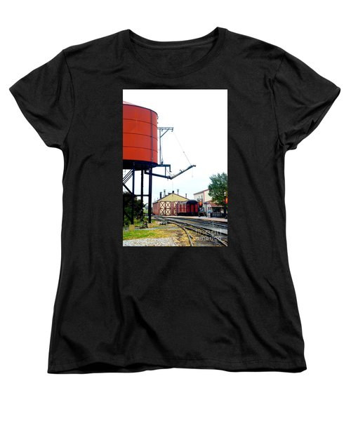 Women's T-Shirt (Standard Cut) featuring the photograph The Water Tower by Paul W Faust - Impressions of Light