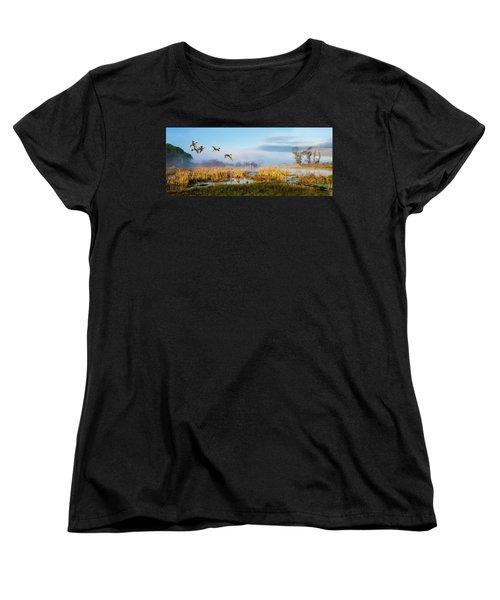 The Wetlands Women's T-Shirt (Standard Cut)