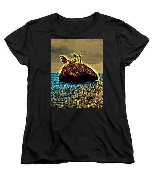 The Whisperer Women's T-Shirt (Standard Cut) by Vennie Kocsis