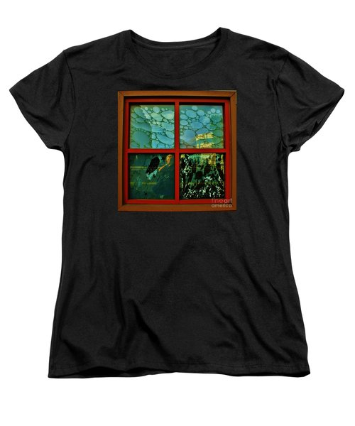 Women's T-Shirt (Standard Cut) featuring the photograph The Window by Craig Wood