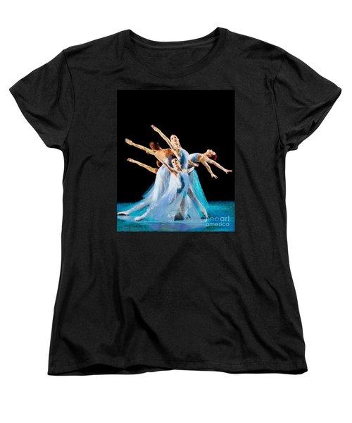 They Danced Women's T-Shirt (Standard Cut) by Catherine Lott