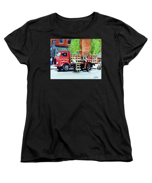 This Bud's For You Women's T-Shirt (Standard Cut) by Tom Riggs