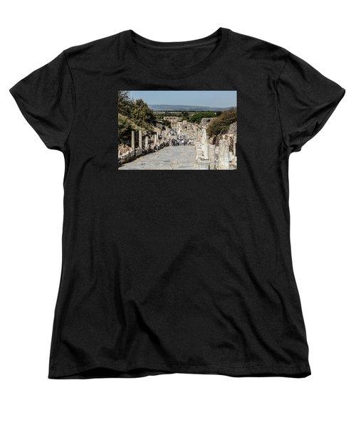 This Is Ephesus Women's T-Shirt (Standard Cut) by Kathy McClure