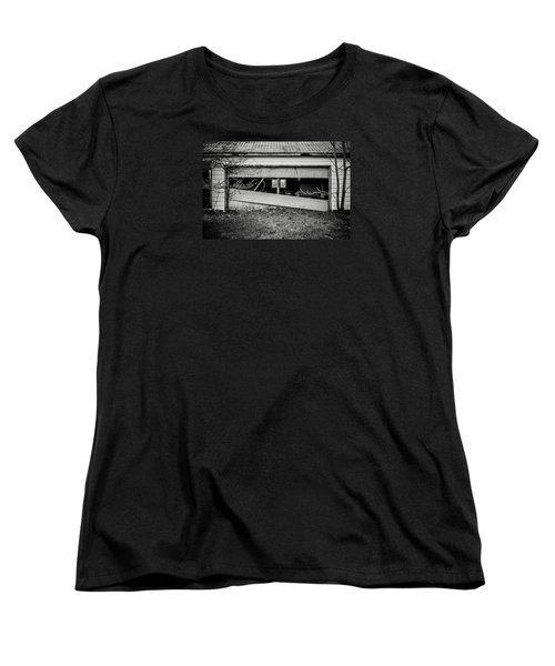 This Was Once The Perfect Hideout Women's T-Shirt (Standard Cut) by Off The Beaten Path Photography - Andrew Alexander