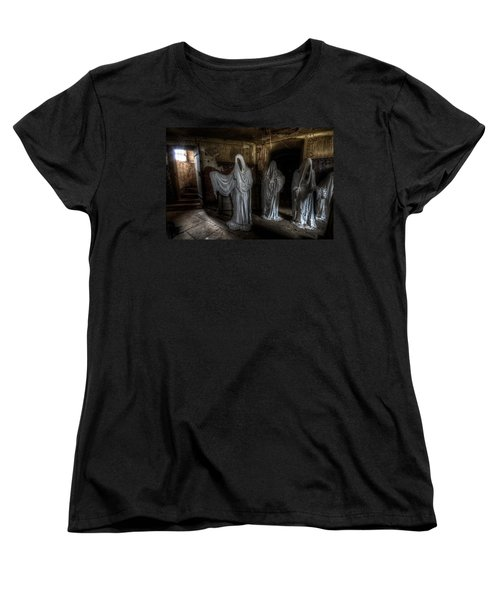 This Way Please Women's T-Shirt (Standard Cut) by Nathan Wright