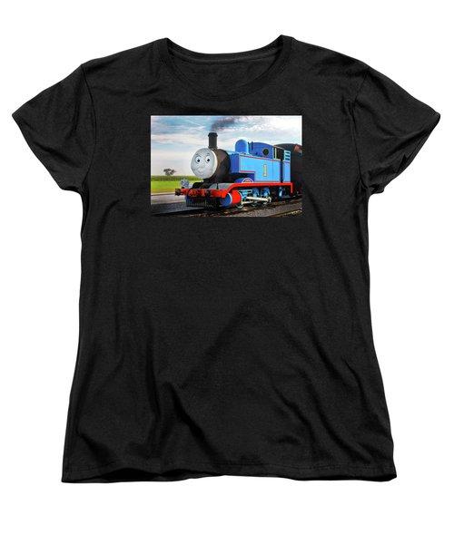 Thomas The Train Women's T-Shirt (Standard Cut) by Paul W Faust -  Impressions of Light