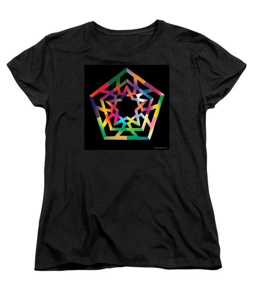 Thoreau Star Women's T-Shirt (Standard Cut)