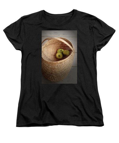 Three Apples Women's T-Shirt (Standard Cut)