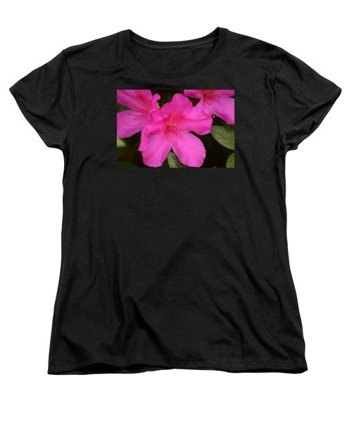 Three Azaleas Women's T-Shirt (Standard Cut) by Warren Thompson