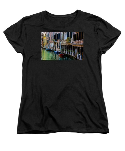 Three Boats Women's T-Shirt (Standard Cut) by Harry Spitz