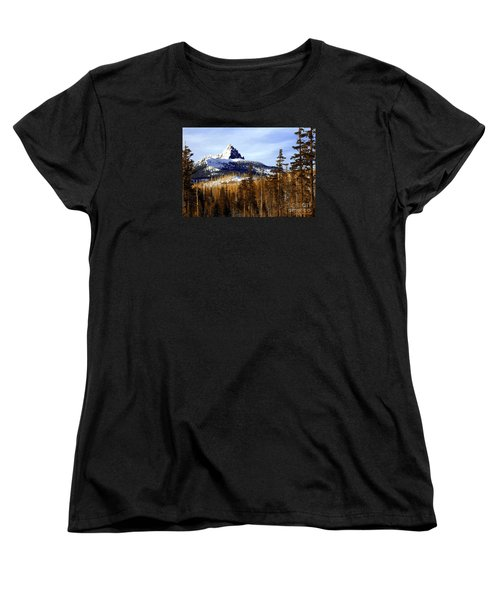 Three Fingered Jack Women's T-Shirt (Standard Cut) by Steve Warnstaff