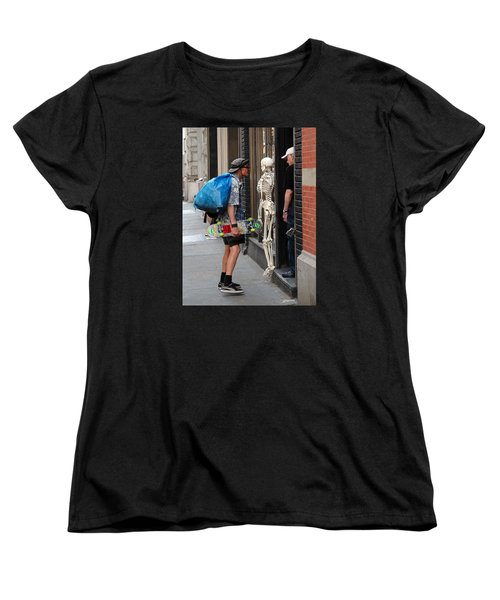 Women's T-Shirt (Standard Cut) featuring the photograph Three Friends by Dorin Adrian Berbier