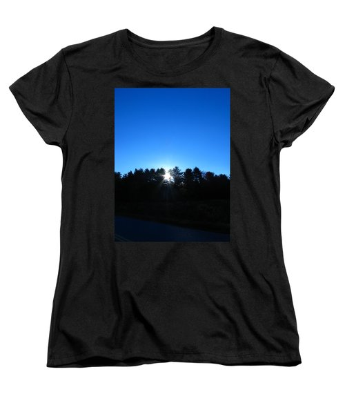 Through The Trees Brightly Women's T-Shirt (Standard Cut)