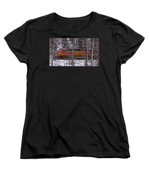 Through The Woods Women's T-Shirt (Standard Cut) by Albert Seger