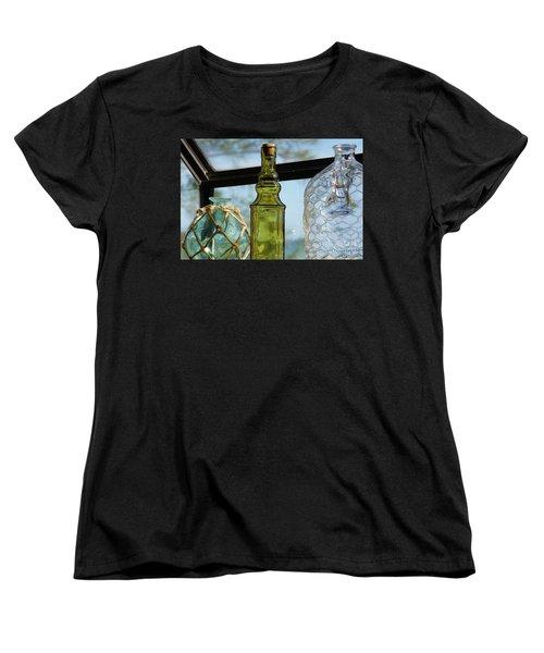 Thru The Looking Glass 3 Women's T-Shirt (Standard Cut) by Megan Cohen