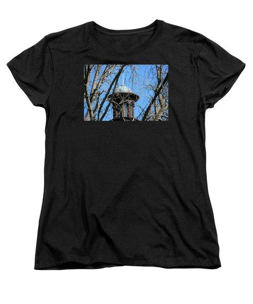 Thru The Trees Women's T-Shirt (Standard Cut) by Cathy Harper