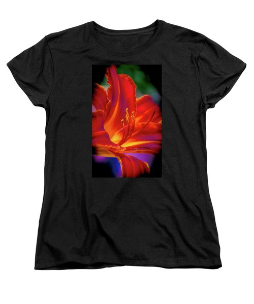 Tiger Lily Women's T-Shirt (Standard Cut) by Mark Dunton