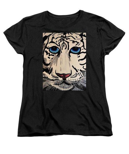 Tigger Women's T-Shirt (Standard Cut) by Nora Shepley