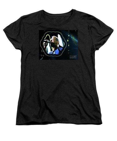 Chris Martin - A Head Full Of Dreams Tour 2016  Women's T-Shirt (Standard Cut) by Tanya Filichkin