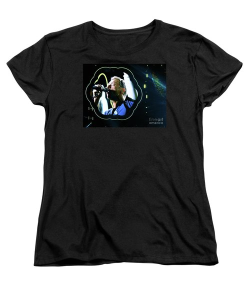 Chris Martin - A Head Full Of Dreams Tour 2016  Women's T-Shirt (Standard Cut)