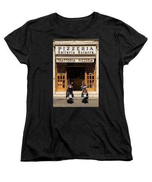 Time For Pizza Women's T-Shirt (Standard Cut)