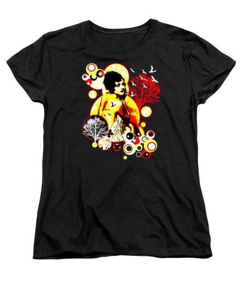 Timeless Flight Women's T-Shirt (Standard Cut) by Chris Andruskiewicz
