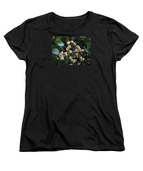 Tiny Flowers Women's T-Shirt (Standard Cut) by Richard Brookes