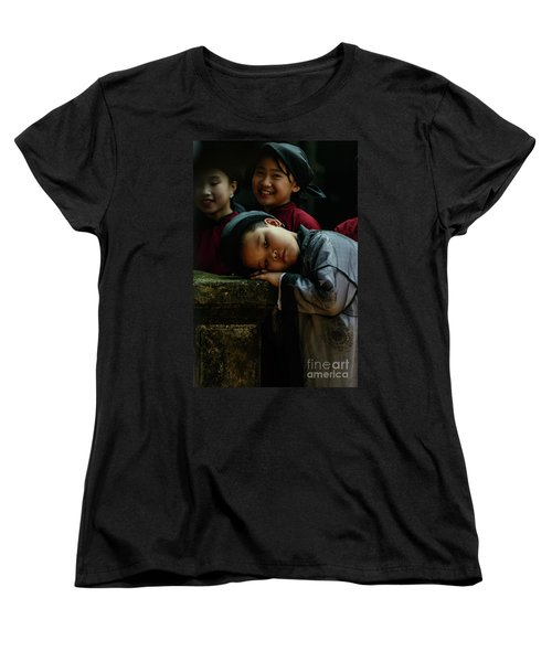 Tired Actor Women's T-Shirt (Standard Cut) by Werner Padarin