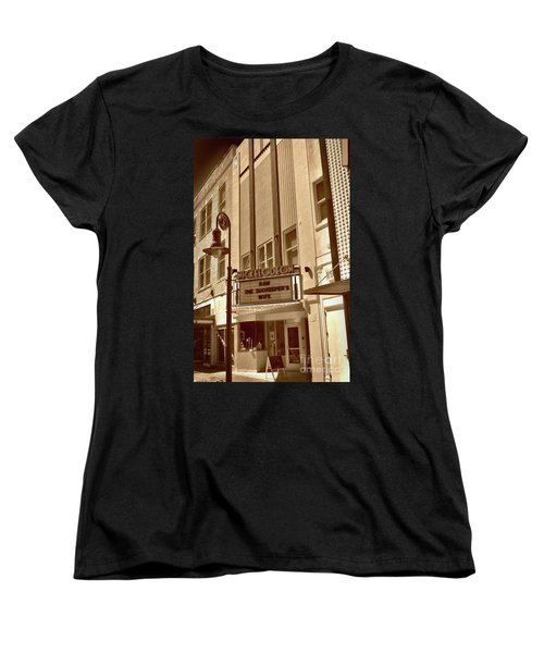 Women's T-Shirt (Standard Cut) featuring the photograph To The Movies by Skip Willits