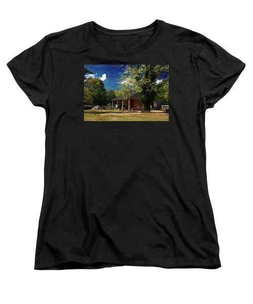 Tobacco Barn Women's T-Shirt (Standard Cut) by Christopher Holmes