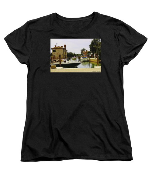 Women's T-Shirt (Standard Cut) featuring the photograph Torcello Island by Cendrine Marrouat