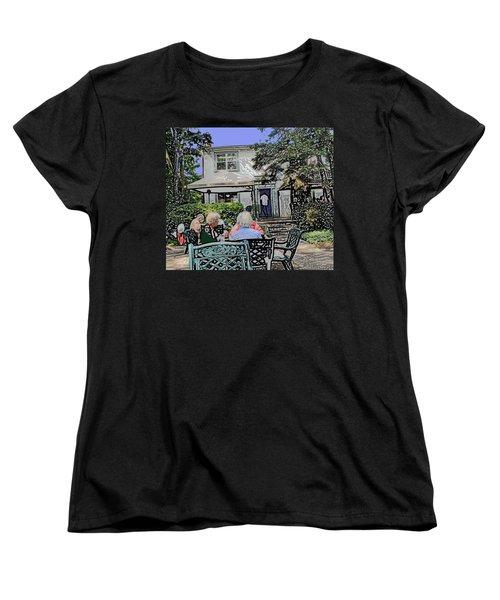 Toronto Island Restaurant Women's T-Shirt (Standard Cut) by Ian  MacDonald