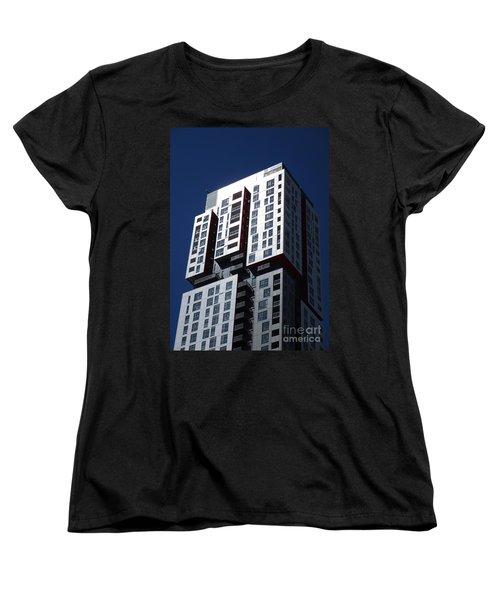Toronto Skyscrapers 6 Women's T-Shirt (Standard Cut) by Randall Weidner