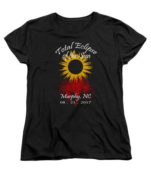 Total Eclipse T-shirt Art Murphy Nc Women's T-Shirt (Standard Fit)