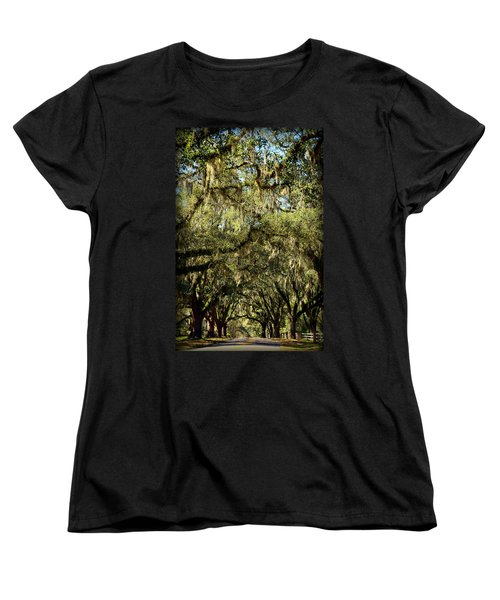 Towering Canopy Women's T-Shirt (Standard Cut) by Carla Parris