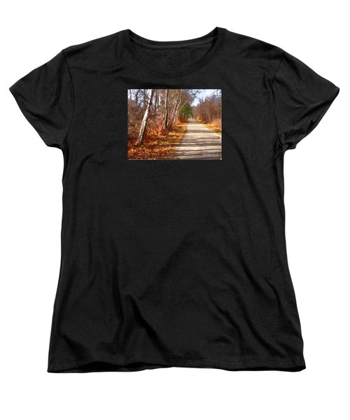 Women's T-Shirt (Standard Cut) featuring the photograph Transformed by Betsy Zimmerli