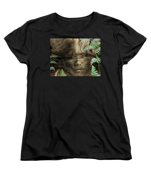 Women's T-Shirt (Standard Cut) featuring the photograph Tree Memories # 32 by Ed Hall