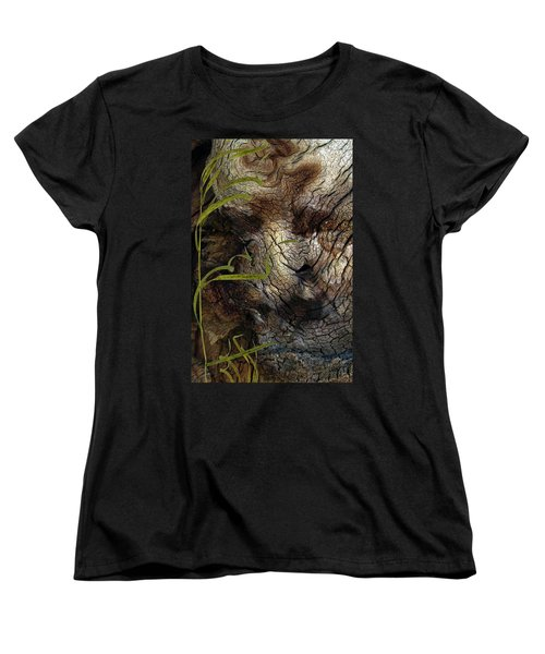 Women's T-Shirt (Standard Cut) featuring the photograph Tree Memories # 37 by Ed Hall