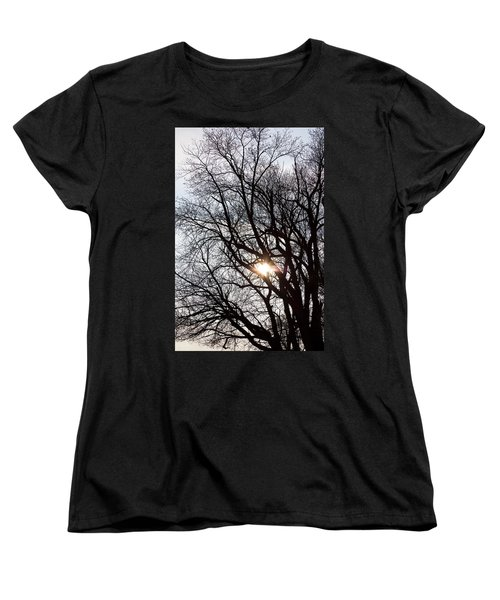 Women's T-Shirt (Standard Cut) featuring the photograph Tree With A Heart by James BO Insogna