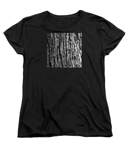 Women's T-Shirt (Standard Cut) featuring the photograph Trees Never Gone by Dorin Adrian Berbier