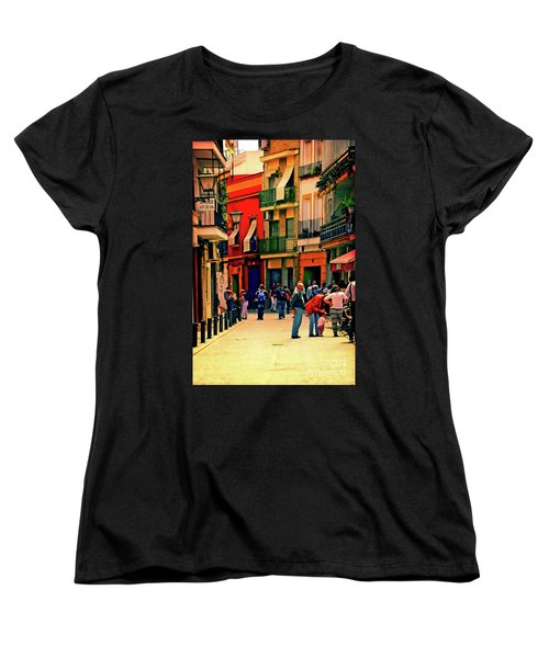 Women's T-Shirt (Standard Cut) featuring the photograph Triana On A Sunday Afternoon 3 by Mary Machare