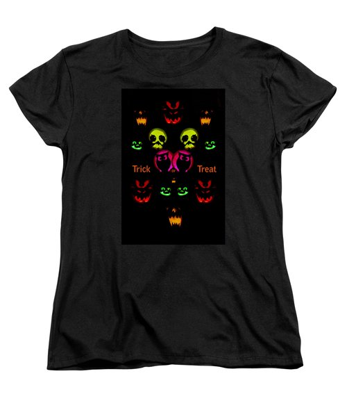 Women's T-Shirt (Standard Cut) featuring the photograph Trick Or Treat by Greg Norrell
