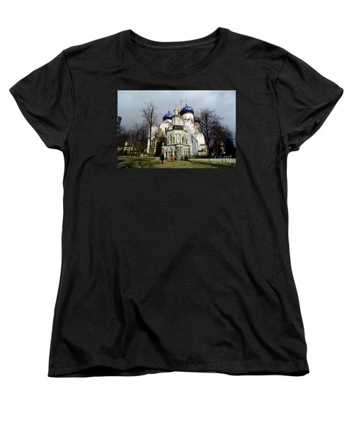 Trinity Lavra Of St. Sergius Russian Orthodox Churchsergiev Posad Women's T-Shirt (Standard Cut) by Wernher Krutein