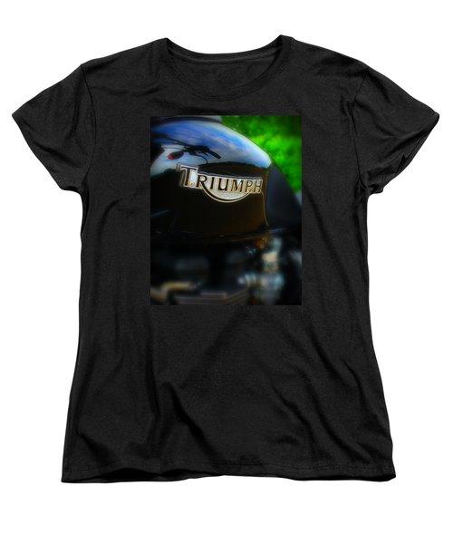 Triumph Women's T-Shirt (Standard Cut) by Perry Webster